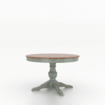 "Wood Top 30"" Round Table 4848"
