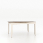 """30"""" Boat Shape Wood Top Table 4268"""