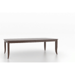 """30"""" Boat Shaped Wood Top Table 4268"""