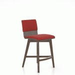 "Upholstered 24"" Swivel Stool"