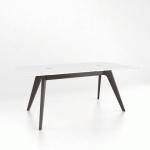 """30"""" Rectangular Glass Top Table 4072"""