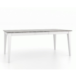 "30"" Rectangular Wood Top Table 3860"