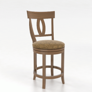 "Upholstered 26"" Swivel Stool"