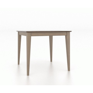 """36"""" Square Table Wood Top Table 4242"""