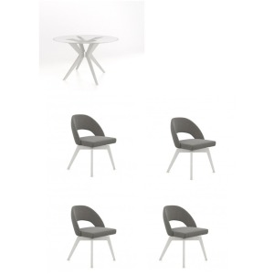 Downtown 5PC Dining Set