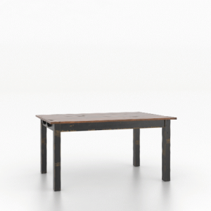 "Wood Top 30"" Rectangular Table 3660"