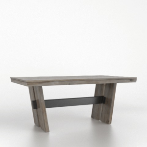 "30"" Rectangular Wood Top Table 4072"