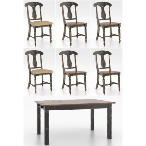 Champlain 7 PC Dining Set