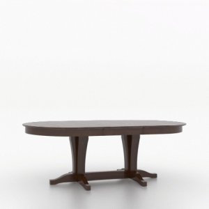 "30"" Oval Wood Top Table 4868"