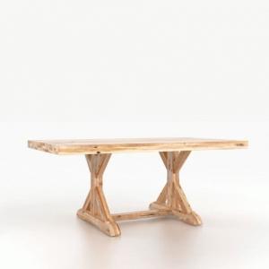 Loft Wood Top Table