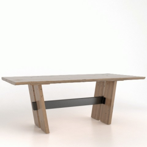 Canadel Wood Top Table