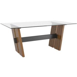 East Side Rectangular Glass Table