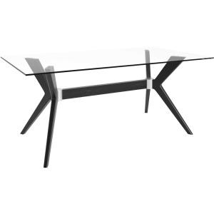 Downtown Rectangular Glass Table