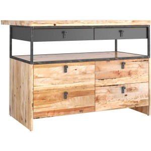 Loft Kitchen Island