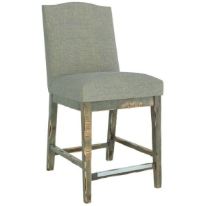 Champlain Upholstered Fixed Stool