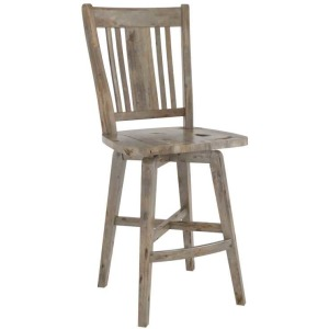 Champlain Wood Fixed Stool