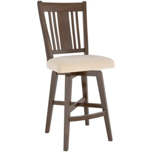 Canadel Upholstered Fixed Stool