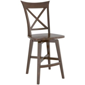 Canadel Wood Fixed Stool