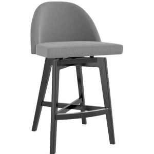 Downtown Upholstered Fixed Stool