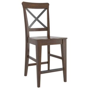 East Side Wood Fixed Stool