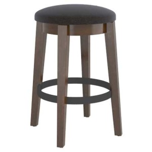 East Side Upholstered Fixed Stool