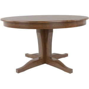 Canadel Round Wood Table