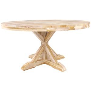Loft Round Wood Table