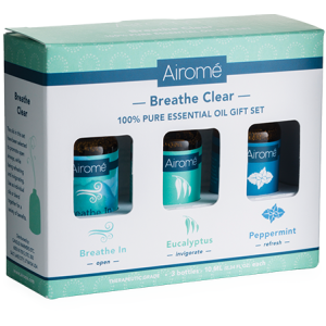 Breathe Clear Gift Set