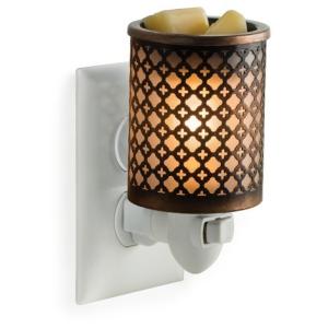 Moroccan Metal Pluggable Fragrance Warmer