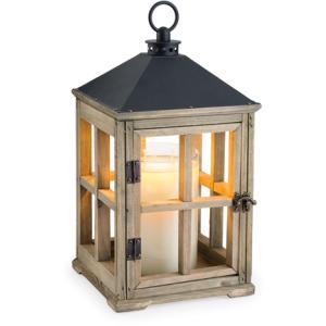 Driftwood Wooden Lantern