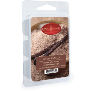 Warm Vanilla 2.5 oz Wax Melts