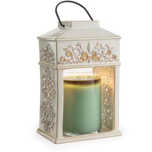 Fleur De Lis Ceramic Lantern