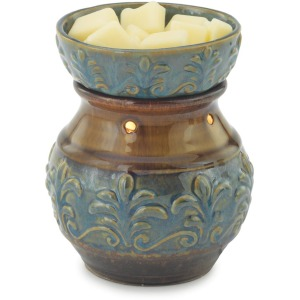 Blue Fleur de Lis Illumination Warmer