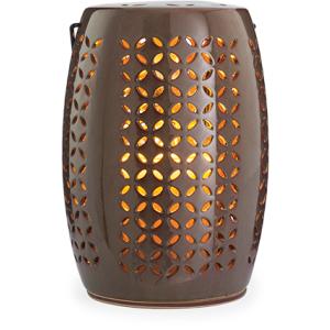 Crescent Ceramic Lantern