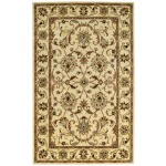 Eloquent Garden Antique Ivory Hand Tufted Rug