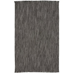 Seagrove Steel - Vertical Stripe Rectangle Rug - 5' x 8'