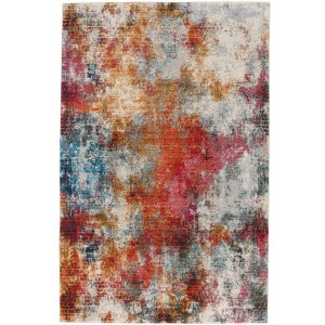 Fuego-Alonso Fire Multi Machine Woven Rug