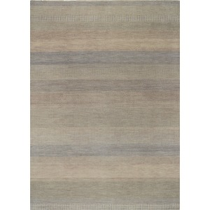 Barrister Oyster Hand Knotted Rug - 6' x 9'