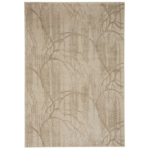 "Willow Champagne Rectangle Rug - 5'3"" x 7'6"""