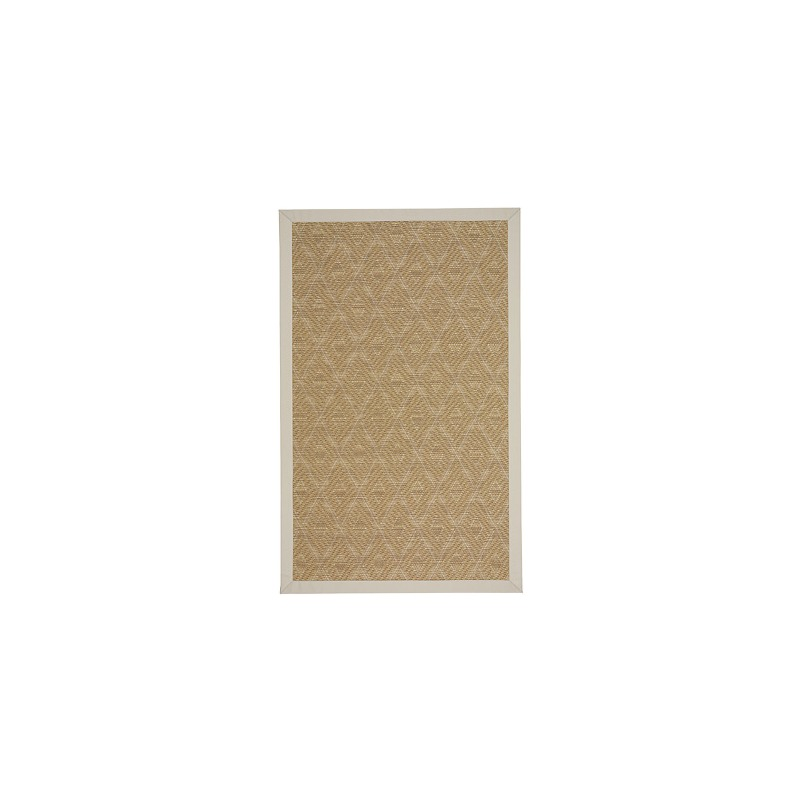 Savanna-Tumbleweed Cream Canvas Antique Beige Rectangle