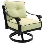 Cushioned Lounge Swivel Rocker
