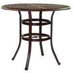 Sienna 42'' Round Counter Table