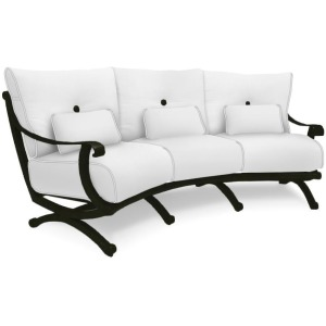 Crescent Sofa With/Three Kidney Pillows