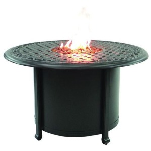 Round Firepit Coffee Table