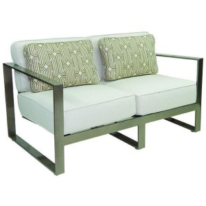 Cushioned Loveseat