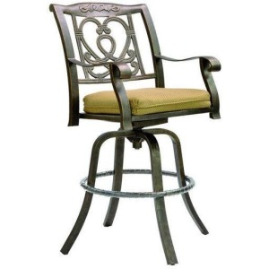 Cast Swivel Bar Stool