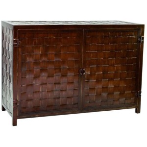 Tables 24\'\' x 60\'\' Armoire Storage Chest Large Weave