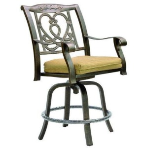 Cast Swivel Counter Stool