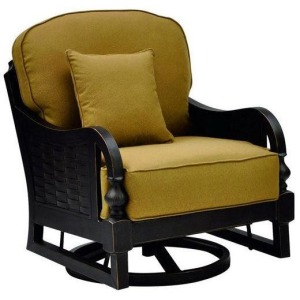 Cushion Swivel Glider Chair