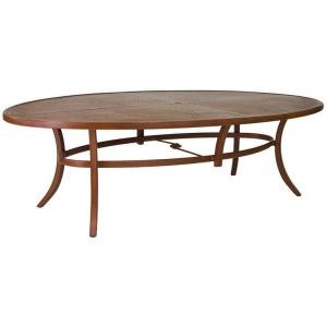62\'\' x 100\'\' Elliptical Dining Table
